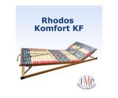 7 Zonen Teller-Leisten Lattenrost Rhodos Komfort KF 80x200 cm