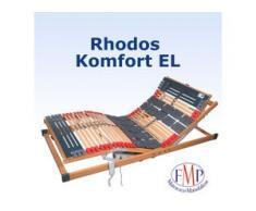 7 Zonen Teller Lattenrost Rhodos EL Komfort elektrisch verstellbar 80x200