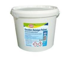 WECO Geschirr-Reiniger Pulver, Löst zuverlässig Verschmutzungen und Speisereste von Besteck und Geschirr, 10 kg - Eimer