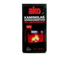 ako® Kaminglas Reinigungstuch, Fruchttuch zur Reinigung von Kaminglas, 1 Packung = 3 Stück