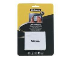 Fellowes Mikrofaser Reinigungstuch, Hochwertiges Reinigungstuch aus hochwertigen Mikrofasern, Farbe: weiß