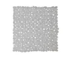 WENKO Paradise Duscheinlage, 54 x 54 cm, Duscheinlage mit Rutschstopp-Struktur für höchste Sicherheit, Farbe: taupe