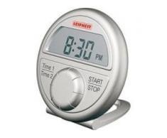 LEIFHEIT Digitaler Kurzzeitmesser, Küchenuhr mit Uhrfunktion, 1 Stück