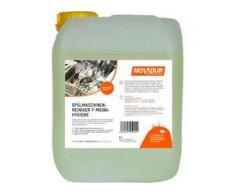 NOVADUR Spülmaschinenreiniger Gastro F-MO384 Hygiene, Spezialreiniger für gewerbliche Spülmaschinen, 5 l - Kanister