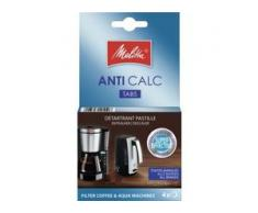 Melitta® ANTI CALC Tabs Kalklösetabletten, Kalklöser für Filterkaffeemaschinen und Wasserkocher, 1 Packung = 4 Tabs