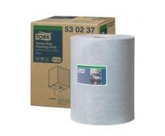 Tork Premium Reinigungstücher 530, blau - Rolle, 1-lagige Vliesstofftücher, 32 x 38 cm, 1 Rolle = 280 Tücher
