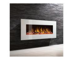 Noble Flame VEGAS 1070 Weiß Elektro Wandkamin [B-Ware Abverkauf]