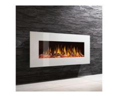 Noble Flame VEGAS Weiß: 770 [Elektro Wandkamin]