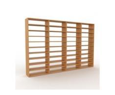 Bücherregal Eiche, Holz - Modernes Regal für Bücher: Hochwertige Qualität, einzigartiges Design - 301 x 195 x 35 cm,...