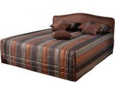 Westfalia Schlafkomfort Polsterbett, wahlweise mit Tagesdecke und Bettkasten, braun