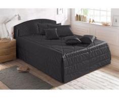 Westfalia Schlafkomfort Polsterbett, wahlweise mit Tagesdecke, Zierkissen und Bettkasten, grau