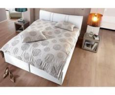 INOSIGN Polsterbett »Melina«, mit oder ohne Matratze und Lattenrost, 2 Matratzenarten, weiß