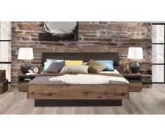FORTE Bett »Jacky«, mit Polsterkopfteil, wahlweise mit oder ohne Bettbank