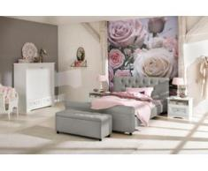 Home affaire Polsterbett »Goronna«, in 5 verschiedenen Farben und 4 Breiten, grau