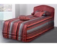Westfalia Schlafkomfort Polsterbett, wahlweise mit Tagesdecke und Bettkasten, rot