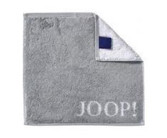 JOOP! Handtücher Classic Doubleface Seiflappen Silber 30 x 30 cm 1 Stk.
