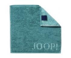 JOOP! Handtücher Classic Doubleface Seiflappen Türkis 30 x 30 cm 1 Stk.