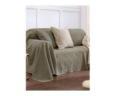 Überwurf für Couch und Bett ca. 160x270cm Peter Hahn grün