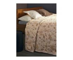 Überwurf für Couch und Bett ca. 160x190 cm Peter Hahn beige