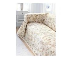 Überwurf für Couch und Bett ca. 160x270 cm Peter Hahn beige