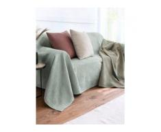 Überwurf für Sessel und Einzelbett ca. 250x270cm Peter Hahn grün