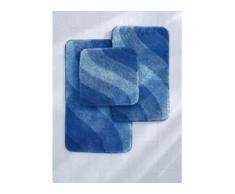 Stand-WC ca. 60x60cm Grund blau