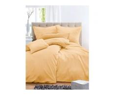 Bettbezug ca. 155x220cm, Kissenbezug ca. 80x80cm Irisette gelb