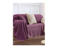 Überwurf für Couch und Bett ca. 160x190cm Peter Hahn pink
