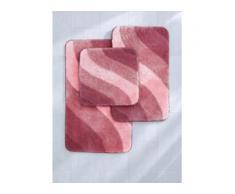 Stand-WC ca. 60x60cm Grund rosé
