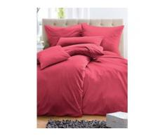 Bettbezug ca. 155x200cm, Kissenbezug ca. 80x80cm Irisette pink