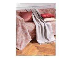 Überwurf für Sofa u. Bett ca. 250x270 cm Peter Hahn rosé
