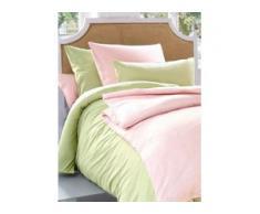 Bettbezug ca. 155x200cm, Kissenbezug ca. 80x80cm Irisette grün
