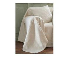 Überwurf für Sessel u. Einzelbett ca. 160x190 cm Peter Hahn beige