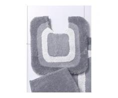 Stand-WC Bezug ca. 60x60cm Grund grau