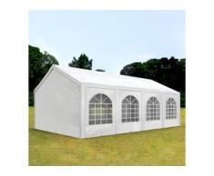 Partyzelt 3x9m PE 240g/m² weiß wasserdicht Gartenzelt, Festzelt, Pavillon