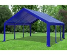 "5x6 m Partyzelt Modular Professional PVC 500 g/m² - wasserdicht - Blau"" """