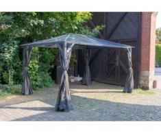 Aluminium Hardtop Pavillon 3x4m Romance wasserdicht stabil