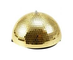 Eurolite Half Mirror Ball 30cm gold