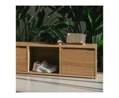 Konfigurierbares Schuhregal aus Eiche - online ganz einfach selbst designen!