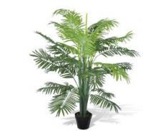 vidaXL Künstliche Phoenix Palme mit Topf 130 cm