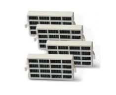 4x Bauknecht HYG001 (481248048173) Whirlpool ANT001 (481248048172) kompatibler F