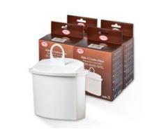 4x Wasserfilter für Braun Kaffeemaschinen, AquaCrest AQK-12,