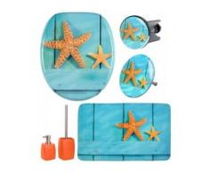 6-teiliges Badezimmer Set Starfish