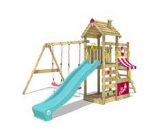 Spielturm mit Schaukel CherryFlyer   Klettergerüst