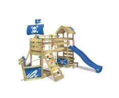 Spielturm mit Wackelbrücke und Rutsche GhostFlyer