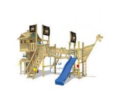 Baumhaus aus Holz NeverLand Gold, Spielturm