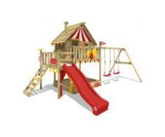 Stelzenhaus mit Schaukel Smart Trip   Spielhaus