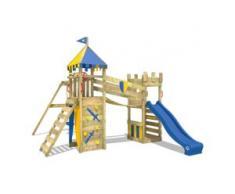 Spielturm mit Schaukel Smart Fort   Spielturm Garten