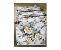 Tischdekoration in verschiedenen Ausführungen, Größe 110 (Läufer 40/140 cm), Rosa