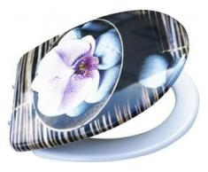 Primaster WC-Sitz Orchidee abnehmbar, mit Absenkautomatik
